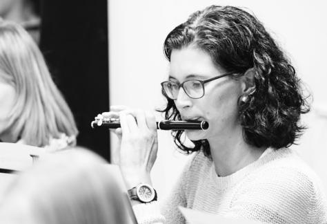 Piccolo follow up workshop Diana Duarte Volksmusikerbund VMB