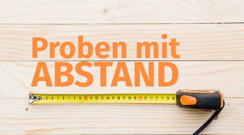 Proben mit Abstand erlaubt Corona Verordnung Volksmusikerbund NRW