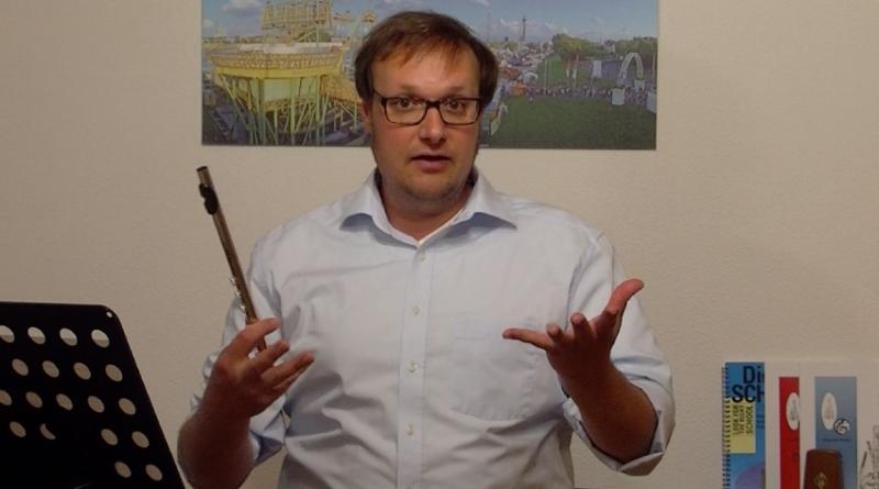 Spielmannflöte Unterricht Corona Volksmusikerbund NRW Video Sebastian Schmitz