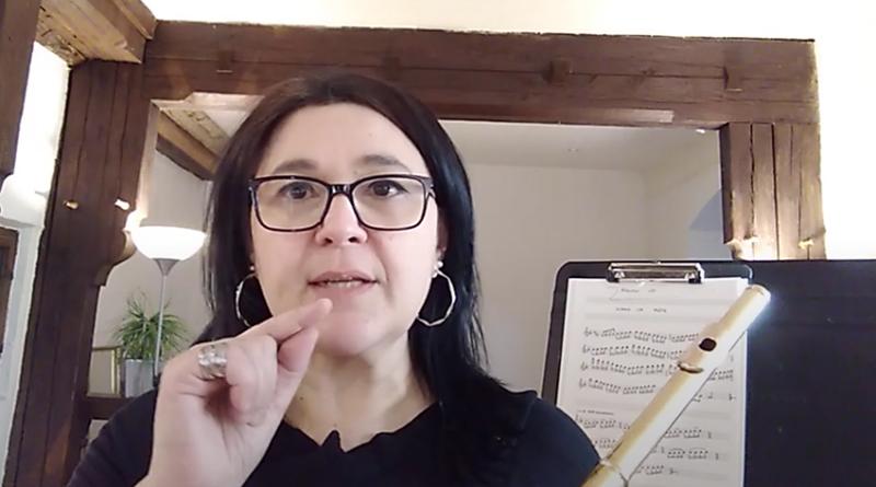 Onlinekurs Böhmflöte Diana Duarte Volksmusikerbund NRW