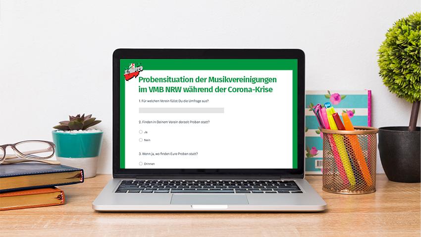 Umfrage Stand Probenbetrieb Volksmusikerbund NRW