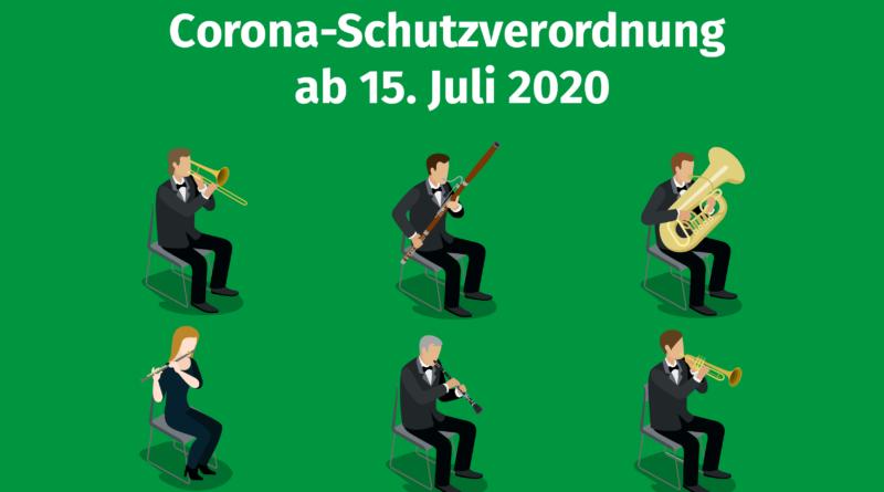 NRW Corona-Schutzverordnung 15. Juli 2020 Volksmusikrbund NRW