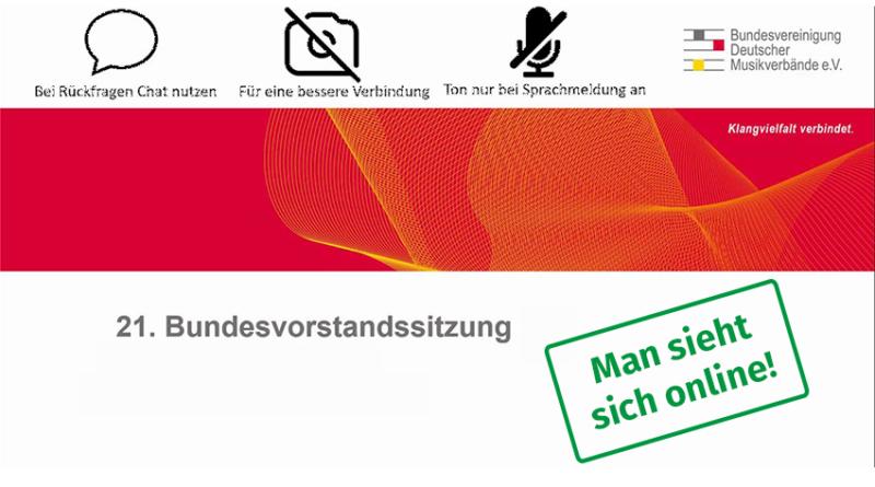 21. Vollversammlung BDMV Volksmuiekrbund NRW ©BDMV