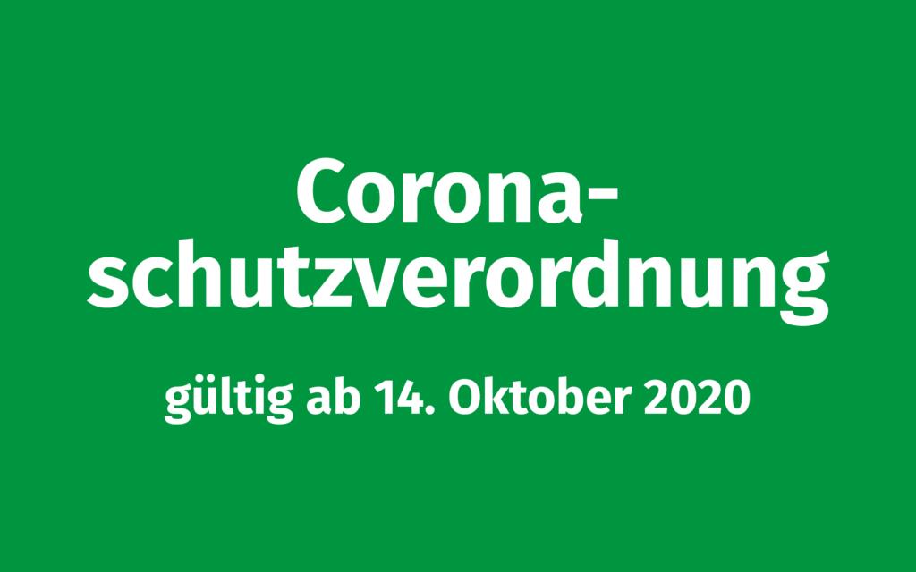 Corona-Schutzverordnung ab 14.10.2020 Volksmusikerbund NRW