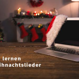 Wir lernen Weihnachtslieder Workshop @awesomecontent Volksmusikerbund NRW