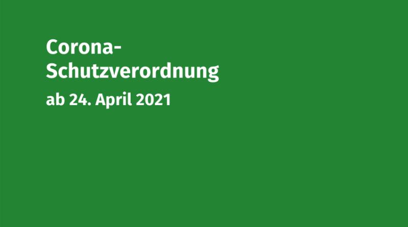 Coronaschutzverordnung 24-04-2021 Volksmusikerbund NRW