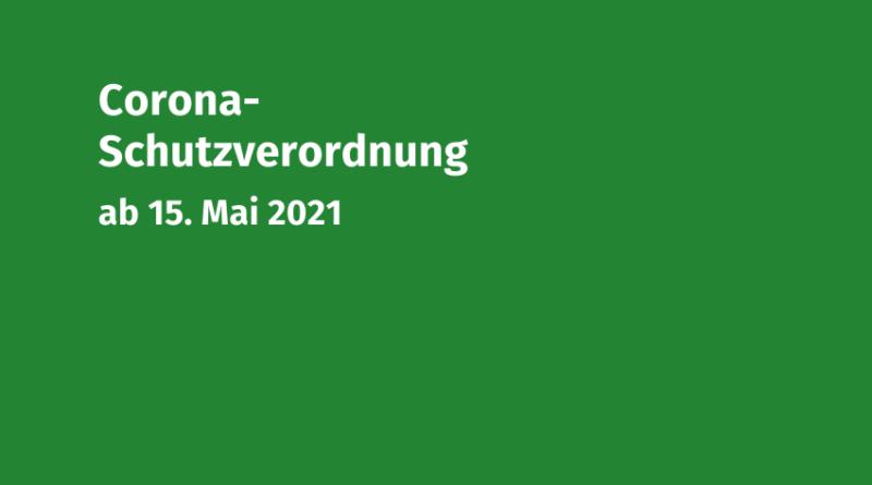 Coronaschutzverordnung 15-05-2021 Volksmusikerbund NRW