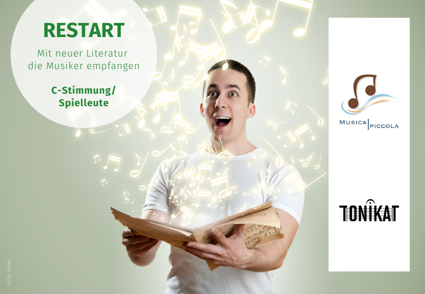 RESTART Literatur Tonikat Musica Piccola Volksmusikerbund NRW