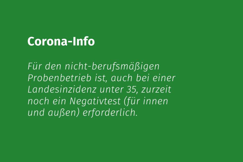 Coronaschutzverordnung Corona-Info Probenbetrieb Volksmusikerbund NRW Volksmusikerbund NRW