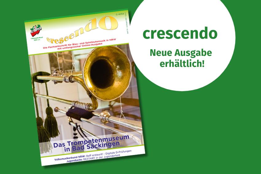 crescendo juli august Volksmusikerbund NRW