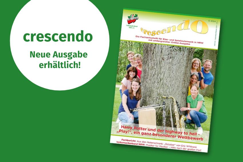 crescendo september oktober Volksmusikerbund NRW