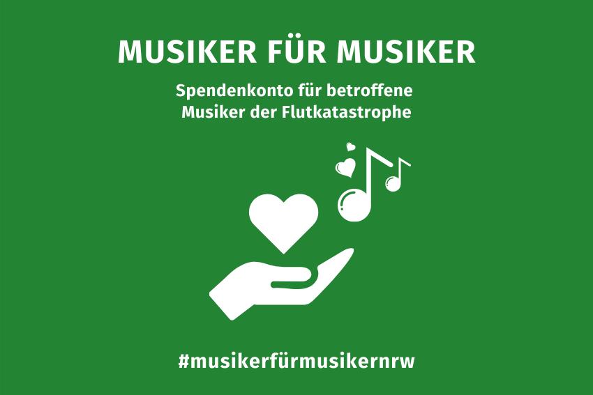 Flutkatastrophe Spendenkonto Volksmusikerbund NRW
