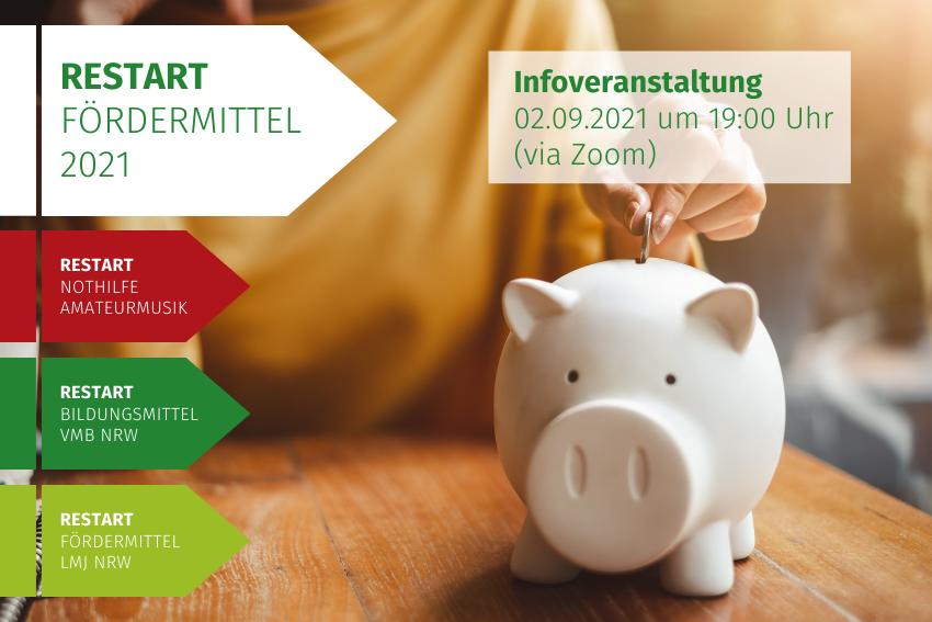RESTART Fördermittel Infoveranstaltung Volksmusikerbund NRW