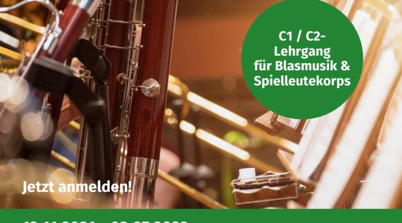 C1 C2 Lehrgang Volksmusikerbund NRW Landesmusikakademie Heek Ausbilder Registerführer