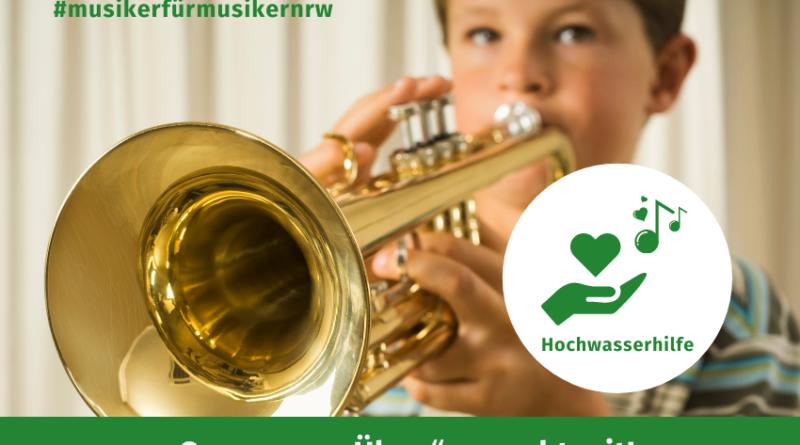 Sponsoren Üben Hochwasserhilfe Volksmusikerbund NRW